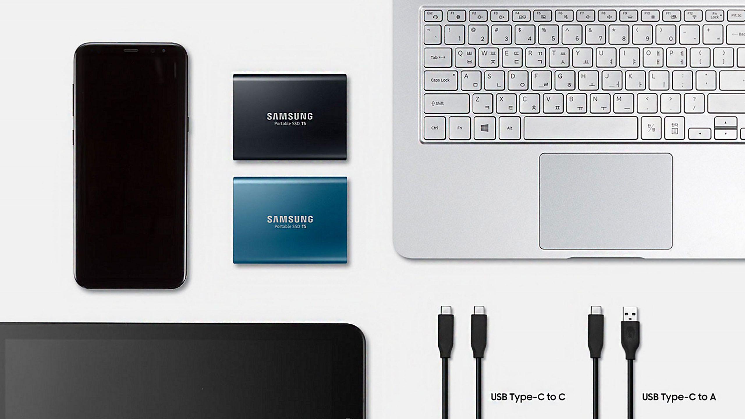 1TB SSD Samsung T5