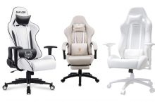 Best White Gaming Chairs That You'll Love ❤️